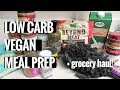 grocery haul + meal prep for the week w/ recipes // vegan MP3