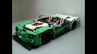 "Lego Technic 42039 ""D"" Modell - Cabriolet - Winter Killer - by dokludi"