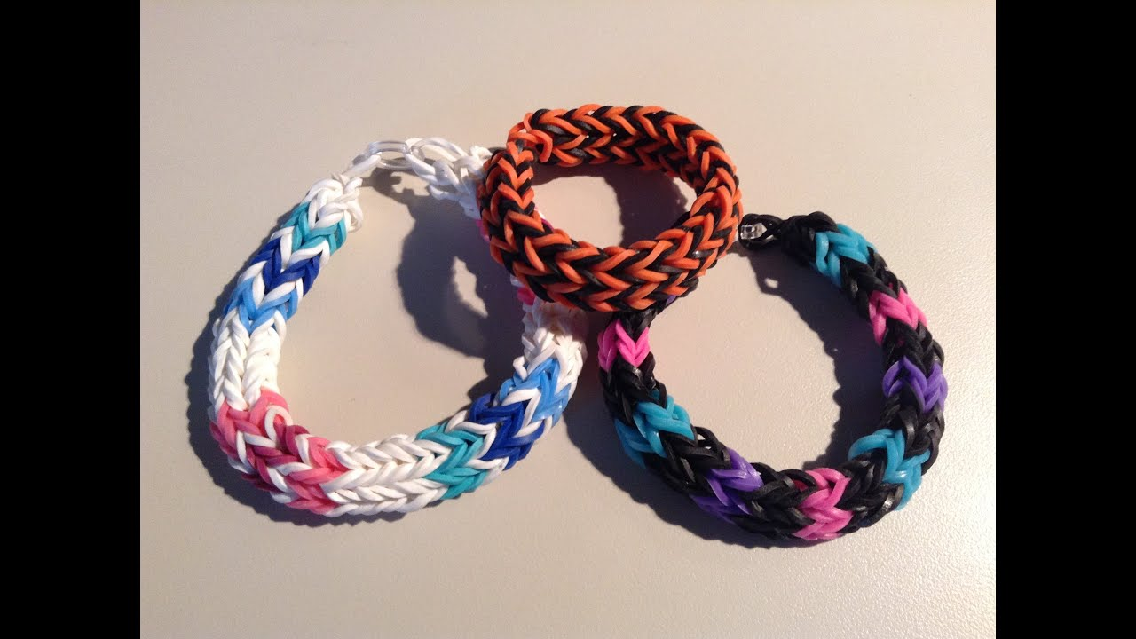 Fishtail Loom With Fingers Fishtail Bracelet Finger