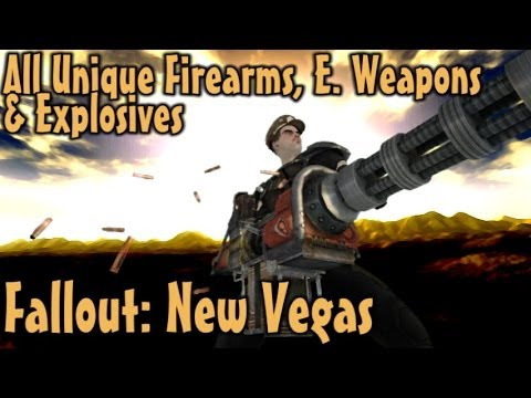 Fallout: New Vegas - Unique Guns, Energy Weapons & Explosives Guide (Vanilla)
