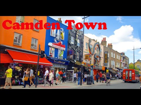 Londres: Percorrendo Camden Town (HD)