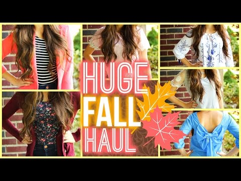 HUGE Fall Clothing Haul 2014!