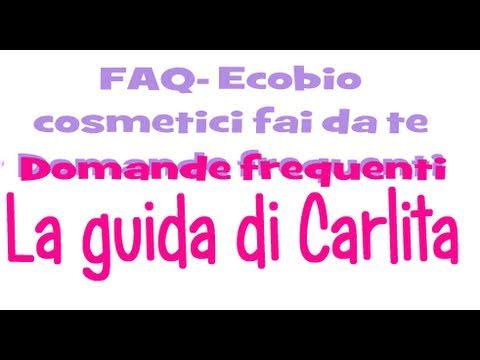 LA GUIDA DI CARLITA 2 ● Domande Frequenti - FAQ