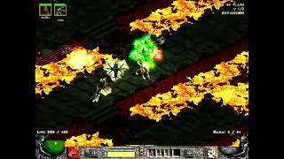 Diablo 2 Hardcore Hell Run 2 ( Druid: Summon / Rabies ), Part 3 (A4 & A5 Normal )