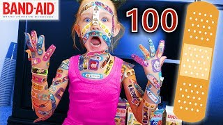Download Lagu 100 Layers of Band-Aids!! | Madison Still Hates Bandaids! Gratis STAFABAND