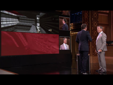 Pierce Brosnan Plays GoldenEye 007 with Jimmy