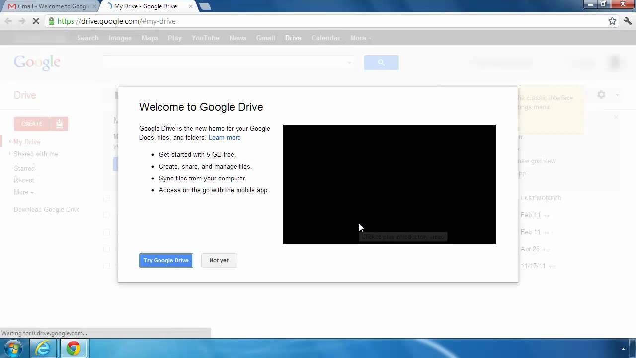how to connect computer to google drive