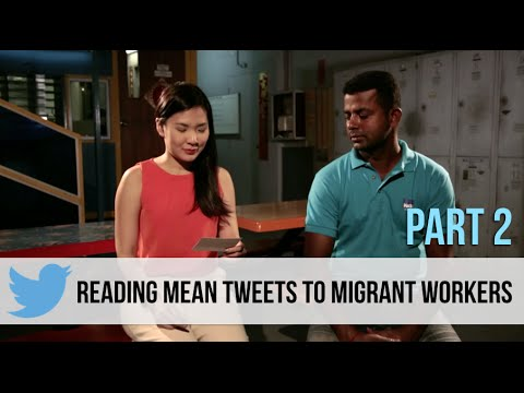 Singaporeans Read Mean Tweets To Migrant Workers (Part 2)