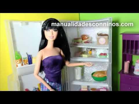 Manualidades: Haz un refrigerador para muñecas - EP 739