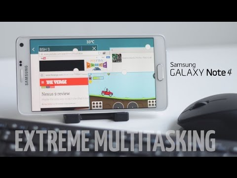 Extreme Multitasking in Galaxy Note 4 (As Powerful As a 2012 Desktop?)