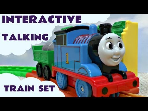 Thomas The Tank All Around Sodor Interactive Talking Train Set by Thomas & Friends