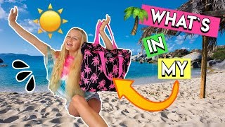 🌞WHAT'S IN MY BEACH BAG für STRAND & POOL 😍 MaVie