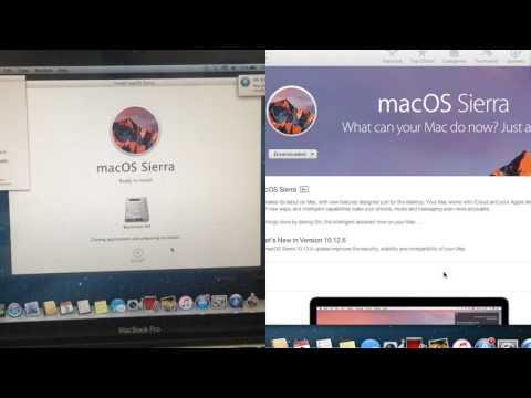 Mac OS Sierra Upgrading, 10.8, 10.7, 10.6 To 10.12.6