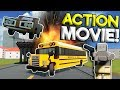 HOW TO MAKE A LEGO POLICE ACTION MOVIE! - Brick Rigs Roleplay Gameplay - Lego City Movie Star Job