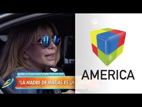Graciela Alfano, sobre Alé: La mamá de Matías es un amor