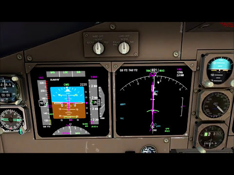 FSX HD - Pmdg Boeing 747-400 - Complete flight from London Heathrow to Paris Orly