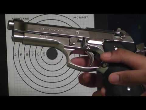 vendo uma pistola 9.MM tOKYO MARUI
