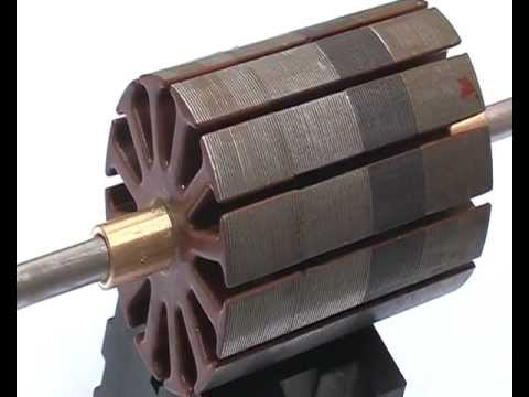 Asymmetric Motor, 12 Pole, build and run, by netica. Video 4