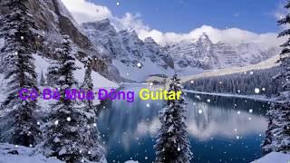 Cô Bé Mùa Đông guitar solo - Karaoke guitar ( # != )