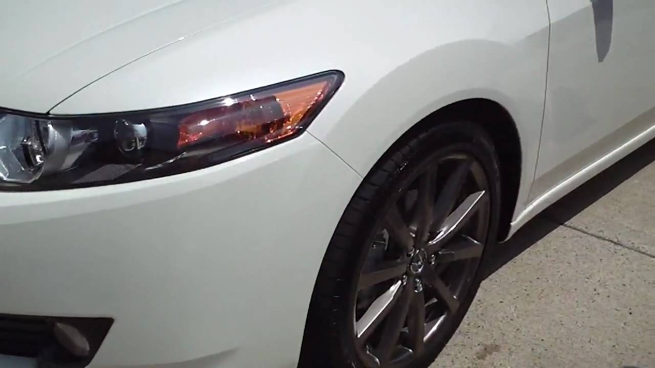 19 Inch Hfp Rims On My 2010 Tsx Youtube