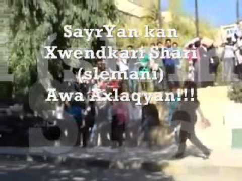 Slemani...ganjakani Slemani+mosaqafakan!!!!! video