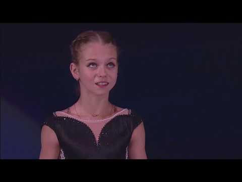 14 Alexandra TRUSOVA - Europeans 2018 Gala Exhibition