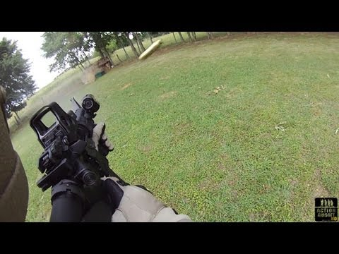 Colt LE6920 M4 Shooting Full Auto
