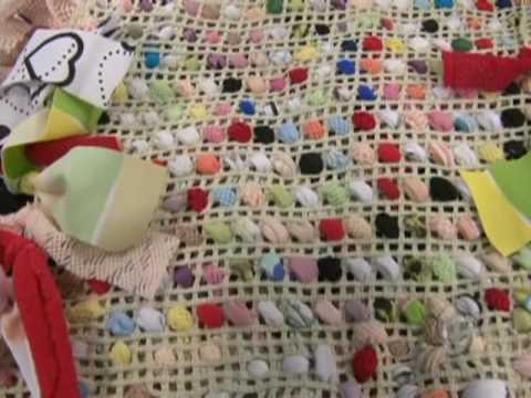 Como fazer tapetes de retalhos