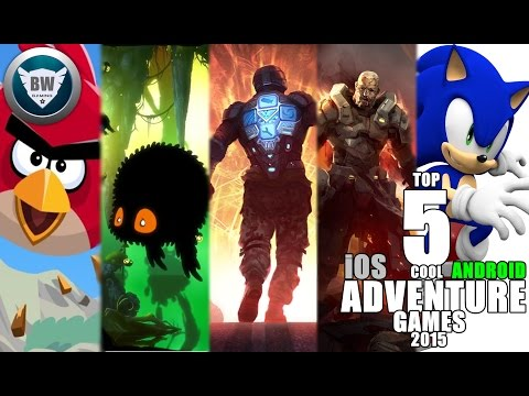 TOP 5 COOL iOS,ANDROID ADVENTURE GAMES 2015 HD