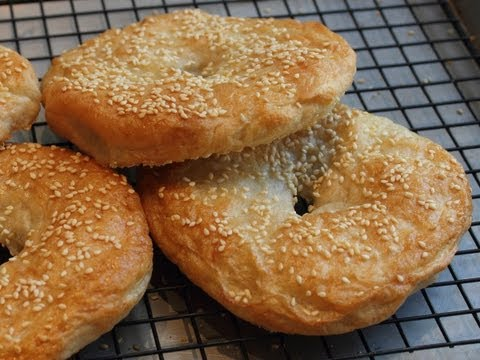 San Francisco Style Bagels - How to Make Bagels