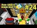 Minecraft Mod Sauce Ep. 24 - Modded Mob Fight !!! ( HermitCraft Modded Minecraft )