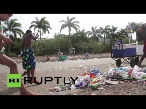 Brazil: Rio strewn with garbage following Carnival