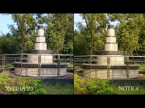 Sony Xperia Z3 Vs Samsung Galaxy Note 4 Camera Test