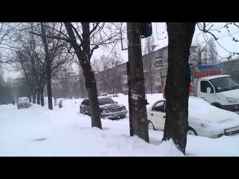 Катаклизм Киев засыпало снегом 23.03.2013 (Cataclysm Kiev covered by snow)