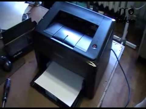 Обнуление принтера Samsung ML1640.