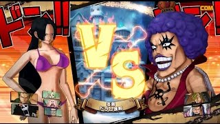 PS4 - One Piece Burning Blood - Wanted - boa hancock vs ivankov [FULLHD]