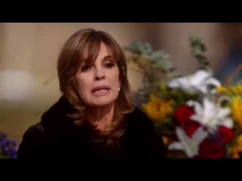 Sue Ellen's moving eulogy to the love of her life, J.R. Ewing (Dallas TNT 2x08)
