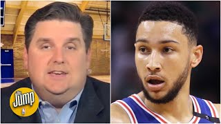 It's been a cursed season for the 76ers - Brian Windhorst reacts to Ben Simmons' injury | The Jump