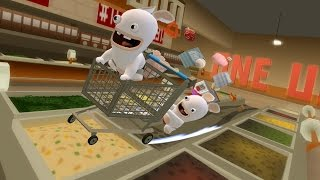 Rabbids Go Home (Wii) Part 1