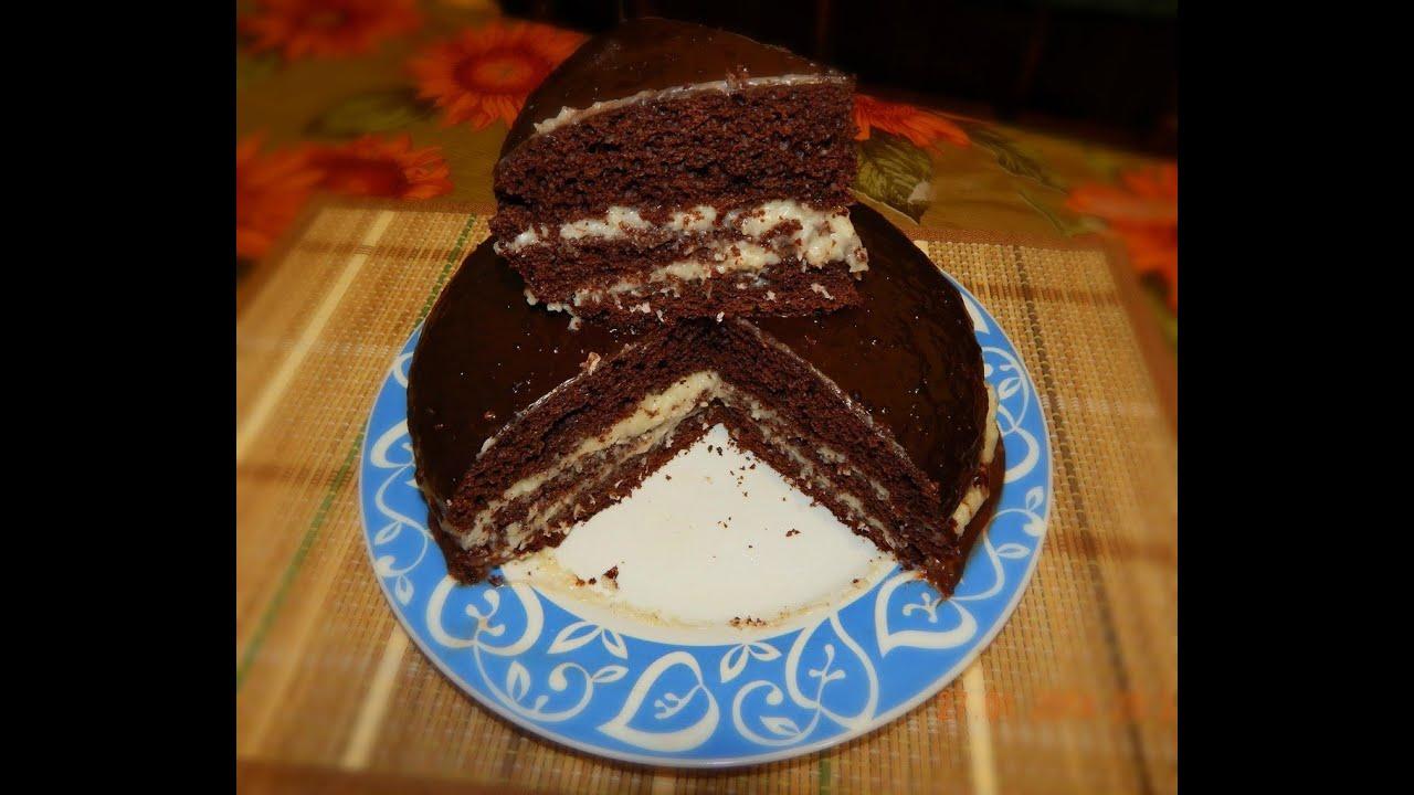 Торт с какао и сгущенкой в мультиварке рецепты с фото