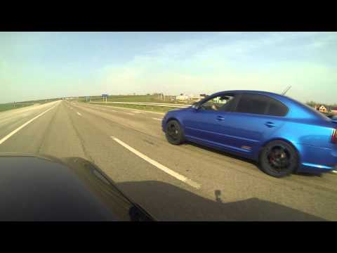BMW 530d E60 chip (diesel boost)  vs Octavia RS DSG APR_St2 (98oct.)
