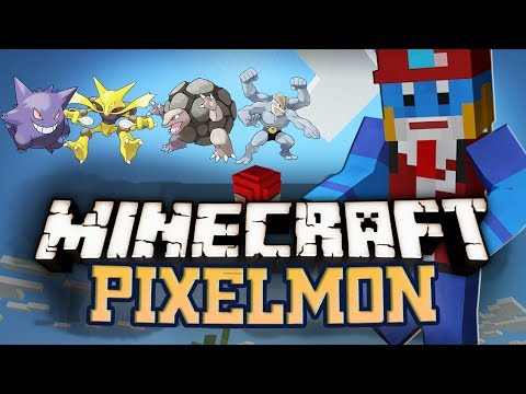 Minecraft PIXELMON POKEMON MOD SUPER LONG EPISODE w Husky #31