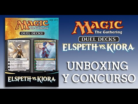 Magic Duel Decks: Unboxing y concurso