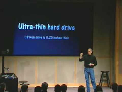 Apple Music Event 2001-The First Ever iPod Introduction