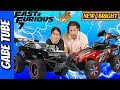 Top Toys FAST & FURIOUS DOM's DODGE CHARGERS Vs NEW BRIGHT REAPER SNOW CHALLENGE REVIEW Gabe Tube TV
