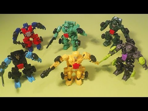 Transformers Construct Bots Optimus Prime Bumblebee Autobots Toys