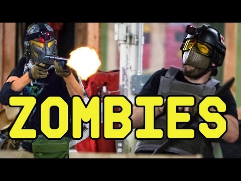 Zombie Game with Novritsch, NODE, Airsoftology, Evike and Brain Exploder
