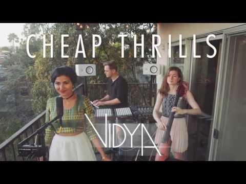 Sia - Cheap Thrills (Vidya Vox Cover) (ft. Shankar Tucker & Akshaya Tucker)