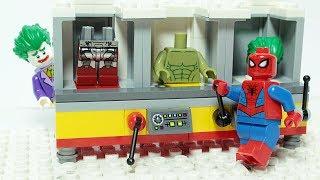 Lego Spiderman Experimental Superhero Machine Animation for Kids