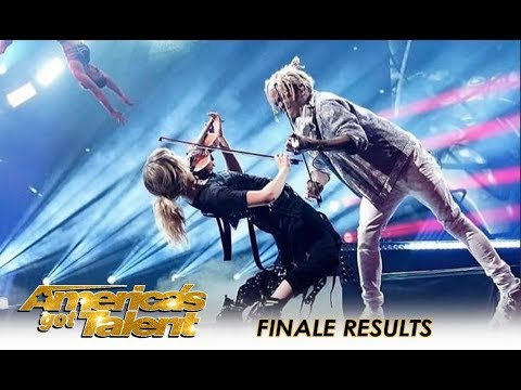 O.M.G! Lindsey Stirling + Brian King Joseph + Zurcaroh + Duo Transcend   America's Got Talent 2018